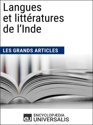 cover image of Langues et littératures de l'Inde