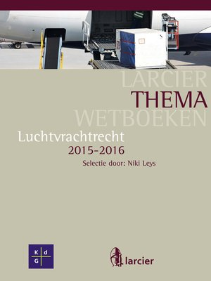 cover image of Luchtvrachtrecht