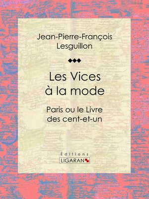 cover image of Les Vices à la mode
