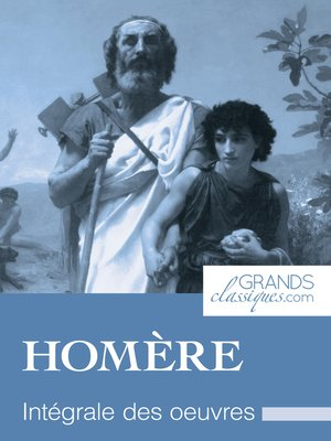 cover image of Homère