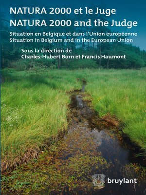 cover image of Natura 2000 et le juge/Natura 2000 and the judge