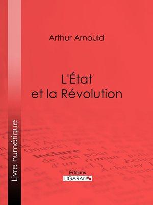 cover image of L'État et la Révolution