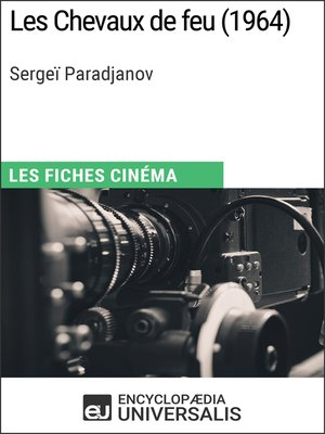 cover image of Les Chevaux de feu de Sergeï Paradjanov