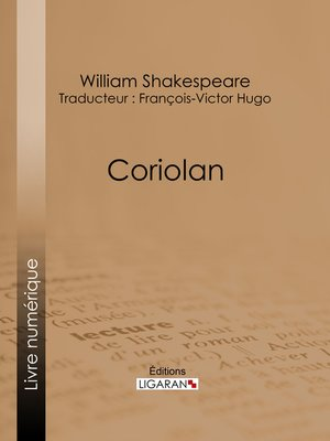 cover image of Coriolan