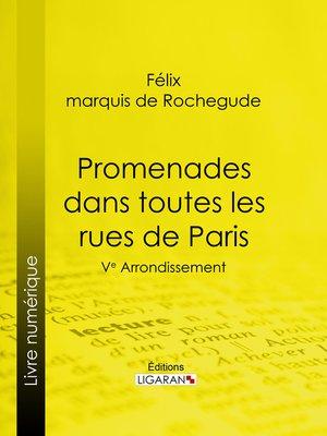 cover image of Promenades dans toutes les rues de Paris