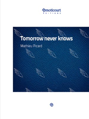 cover image of Tomorrow never knows