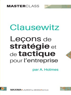 cover image of Clausewitz