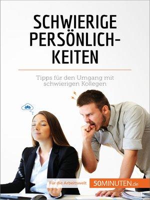 cover image of Schwierige Persönlichkeiten
