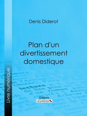 cover image of Plan d'un divertissement domestique