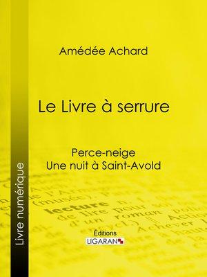cover image of Le Livre à serrure
