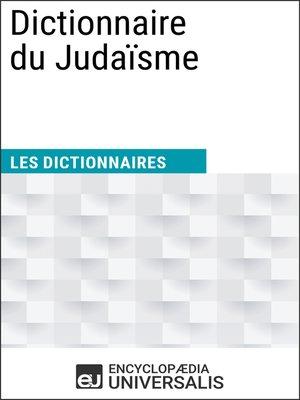 cover image of Dictionnaire du Judaïsme