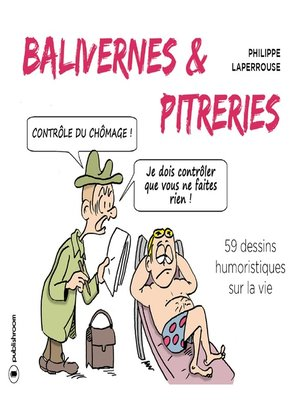 cover image of Balivernes et pitreries