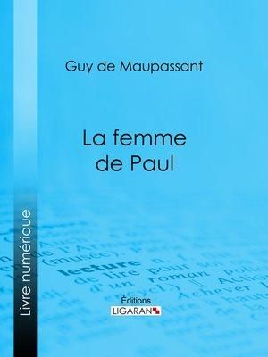 cover image of La femme de Paul