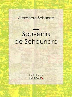 cover image of Souvenirs de Schaunard