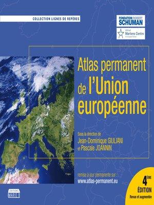cover image of L'Atlas permanent de l'Union européenne