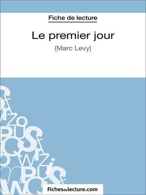 cover image of Le premier jour