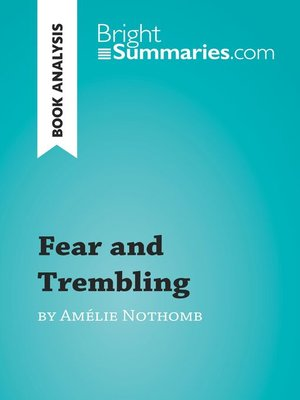 cover image of Fear and Trembling by Amélie Nothomb (Book Analysis)