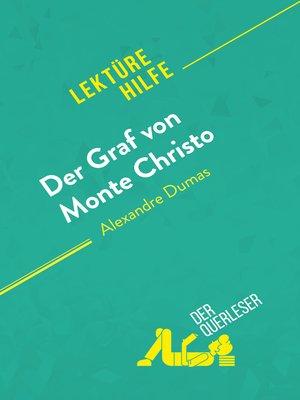 cover image of Der Graf von Monte Christo von Alexandre Dumas (Lektürehilfe)
