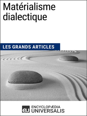 cover image of Matérialisme dialectique