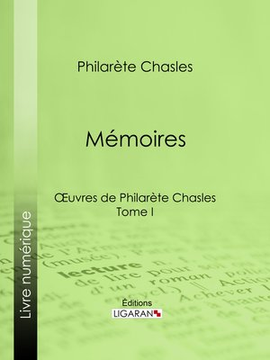 cover image of Mémoires