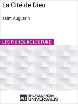 cover image of La Cité de Dieu de Saint Augustin