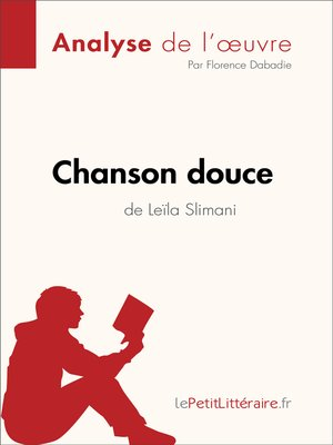 cover image of Chanson douce de Leïla Slimani (Analyse de l'oeuvre)