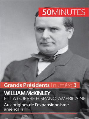 cover image of William McKinley et la guerre hispano-américaine