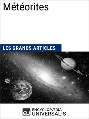 cover image of Météorites
