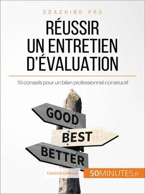 cover image of Réussir un entretien d'évaluation