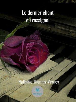 cover image of Le dernier chant du rossignol