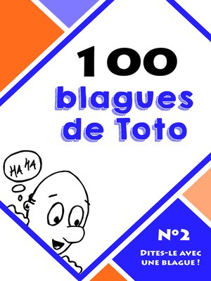 cover image of 100 blagues de Toto