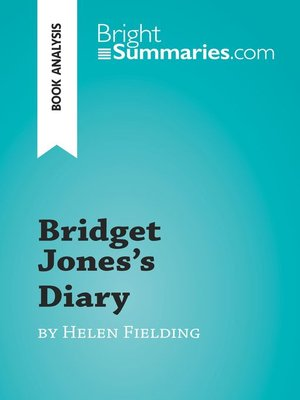 cover image of Bridget Jones's Diary by Helen Fielding (Book Analysis)