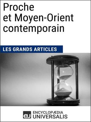 cover image of Proche et Moyen-Orient contemporain