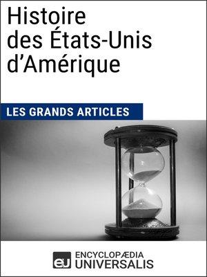 cover image of Histoire des États-Unis d'Amérique