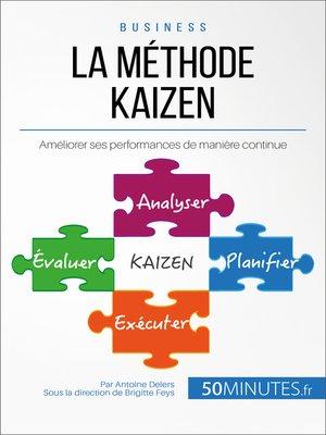 cover image of La méthode Kaizen