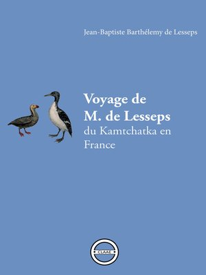 cover image of Voyage de M. de Lesseps