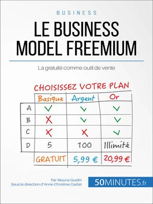 cover image of Le business model freemium