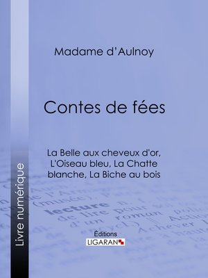 cover image of Contes de fées