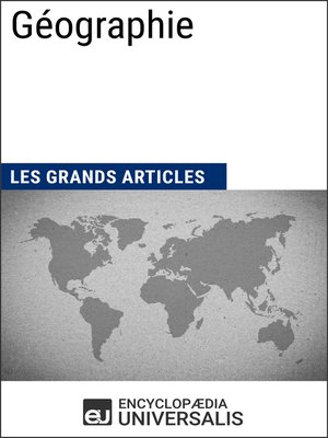 cover image of Géographie