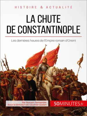 cover image of La chute de Constantinople