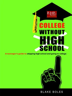 cover image of College Without High School