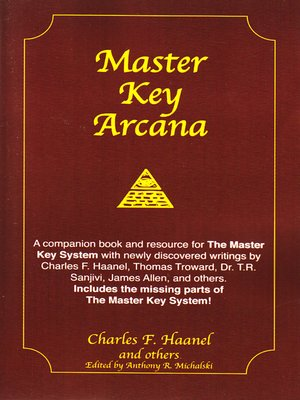 cover image of Master Key Arcana