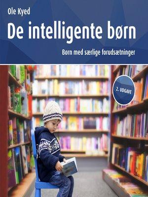 cover image of De intelligente børn, 2. udgave