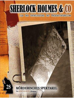 cover image of Sherlock Holmes & Co, Folge 28