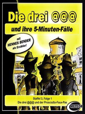 cover image of Die drei @@@ (Die drei Klammeraffen), Staffel 3, Folge 1
