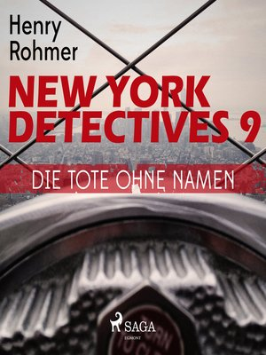 cover image of Die Tote ohne Namen--New York Detectives 9