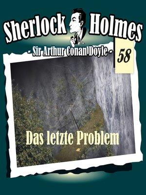 cover image of Sherlock Holmes, Die Originale, Fall 58