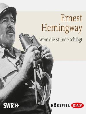 cover image of Wem die Stunde schlägt