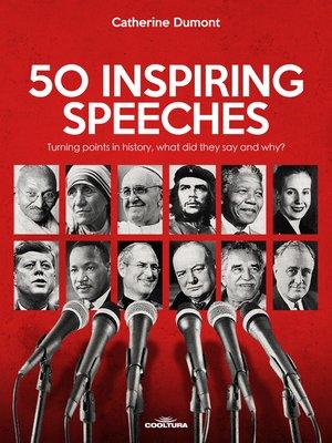 cover image of 50 Inspiring Speeches
