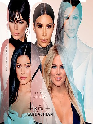 cover image of K for Kardashian